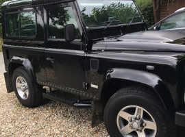 Land Rover Defender 60th svx Black Estate, Manual Diesel, 35,000 miles