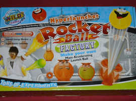 Wild Science 'Hyperlauncher Rocket Ball' Kit (new)