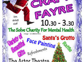 """The Solve Charity For Mental Health"" Christmas Craft Fayre"