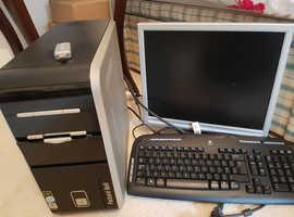 Hewlett Package PC, Screen & Keyboard