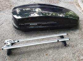 Roof box and bars 480L