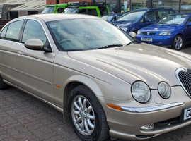 Jaguar S-TYPE, 2002 (02) Beige Saloon, Automatic Petrol, 87,003 miles