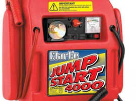 Clarke 4000 Heavy Duty Jump Start Engine Jump Starter