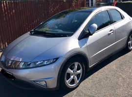 Honda Civic 2.2 CTDI ES -5 dr hatch FSH NEW TYRES/BRAKES immaculate Pano roof Sale due to company car. 65mpg average. Super spacious reliable family c