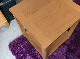 TV unit, Sideboard Unit and Small coffee table in excellent condition, oak colour