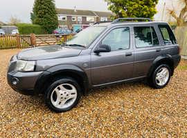 Land Rover Freelander, 2004 (04) Grey Estate, Manual Diesel, 102,813 miles