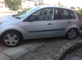 Ford Fiesta, 2006 (56) Silver Hatchback, Manual Petrol, 170,000 miles