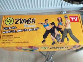 """Zumba box set   """"sale"""""""