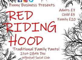 Red Riding Hood - Traditional Family Pantomime!