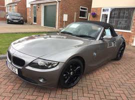 BMW Z SERIES, 2004 (53) Grey Convertible, Manual Petrol, 117,000 miles