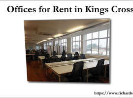 Offices for Rent in Kings Cross- Richards