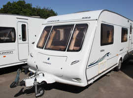 Compass Corona 556 2005 6 Berth Fixed Bunk Beds Caravan + Motor Movers