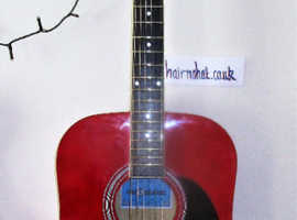 CROSSFIRE Acoustic Guitar. Presentted set-up and Quality New Strings used