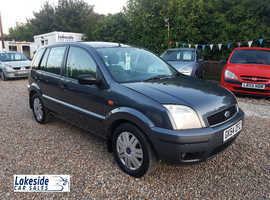 Ford Fusion 1.6 Litre 5 Door Hatchback, Full Service History, New MOT, Only 2 Owners From New.