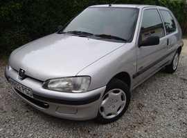 Peugeot 106, 3d 1.1 (W) Bedford. 108,915 miles