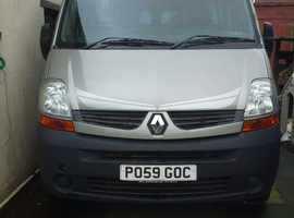 Renault Master - professionally converted.