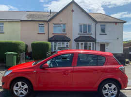 Vauxhall Astra, 2009 (09) Red Hatchback, Manual Petrol, 89,840 miles
