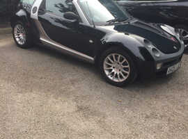 Smart Roadster Coupe, 2005 (05) Silver Convertible, Automatic Petrol, 101,944 miles