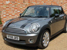 Mini MINI Cooper 1.6 Graphite Limited Edition FULL LEATHER ONLY 55,000 miles