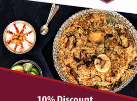 10% Discount On Takeaway Orders Over £10 | India Villa