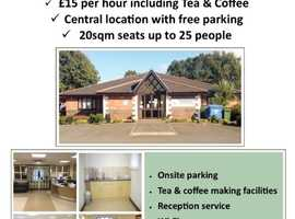 Meeting Room for Hire with Free parking & fully accessible