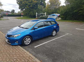 Toyota Auris, 2013 (63) Blue Estate, Cvt , 156,600 miles