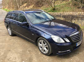 2012 Mercedes E Class 2.1 E220 CDI BlueEFFICIENCY SE (Executive) Face Lift, Rear Camera, Sat Nav, Heated Leather Seats