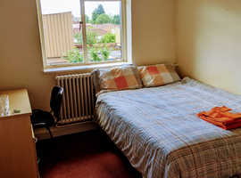 Private double room to rent at Montgomery House, bills included, M16 8PH