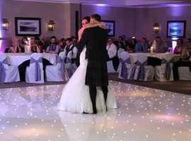 LED dance floors hire Glasgow