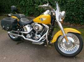 Harley Davidson FLSTF Fat Boy 2012