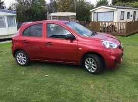 Nissan Micra, 2015 (65) Red Hatchback, Manual Petrol, 22,800 miles
