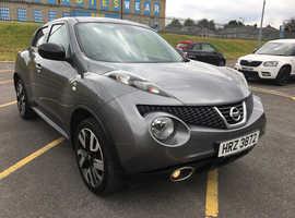 Nissan Juke, 2014 (14) Grey Hatchback, Cvt Petrol, 73,000 miles
