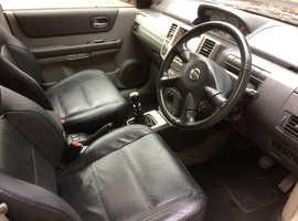 Nissan X-TRAIL, 2004 (54) Red Estate, Manual Diesel, 135,000 miles