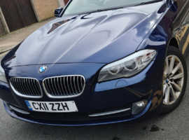 BMW 5 Series, 2011 (11) Blue Saloon, Automatic Diesel, 144,000 miles