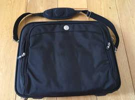 DELL laptop, shoulder bag