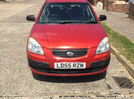 Kia Rio, 2005 (55) Red Hatchback, Manual Petrol, 66,000 miles