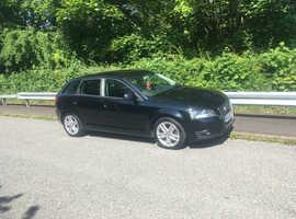 Audi A3, 2009 (09) Black Hatchback, Manual Diesel, 183,000 miles