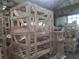 FREE - Wooden Packing Crates Various Sizes - Collection Only