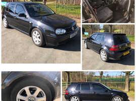 Volkswagen Golf, 2002 (02) Black Hatchback, Manual Petrol, 150,000 miles