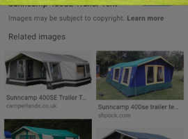 Trailer tent forsale
