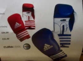 Boxing Gloves Adidas, brand new unused and still bagged, Adidas Clima Cool Design.
