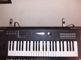 yamaha mx49 keyboard/synth,mint,boxed,manual,adapter