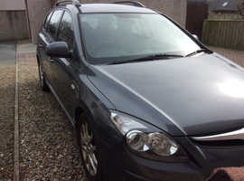 Hyundai i30, 2011 (11) Grey Estate, Automatic Petrol, 57,000 miles