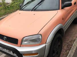 Toyota Rav4, 1997 (P) Red Estate, Manual Petrol, 159,163 miles