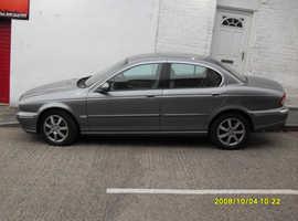 Jaguar X-TYPE, 2004 (04) Grey Saloon, Manual Diesel, 94,110 miles