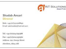 ANSARI IT LTD. Desktop IT Support & Services