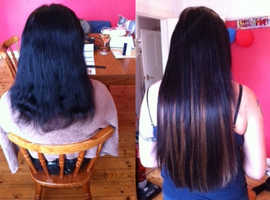 Hair Extensions - Private Installation - Lasts 1-Year - Guaranteed