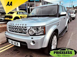 Land Rover Discovery, 2011 (61) Silver Estate, Automatic Diesel, 117,205 miles