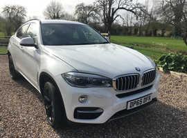 BMW X6 4.0D, 2016 (65) White Estate, Automatic Diesel, 44,226 miles