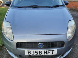 Fiat Grande Punto, 2006 (56) Grey Hatchback, Manual Petrol, 108,000 miles